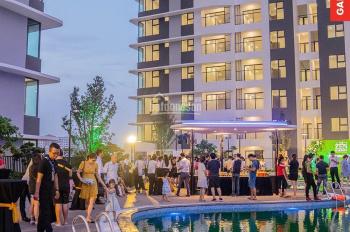 Cho thuê căn 1PN diện tích 54m2 view sân vườn, khu bể bơi tòa The Zen Gamuda