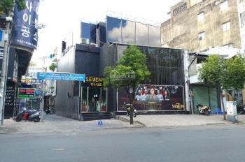 Cho thuê nhà 2 mặt tiền Trương Định - Võ Thị Sáu, Q 3 DT: 32x32m hầm 2 lầu. Giá: 600 tr/th