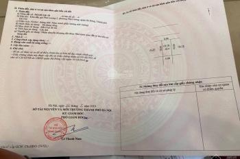 Chính chủ bán lô đất No05 - LK19 đấu giá Phú Lương 2, quận Hà Đông, HN