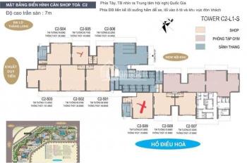 Cho thuê shophouse C2 - S05 Vinhomes D'Capital, phù hợp cafe, nhà hàng, siêu thị. LH 0899.32.0066