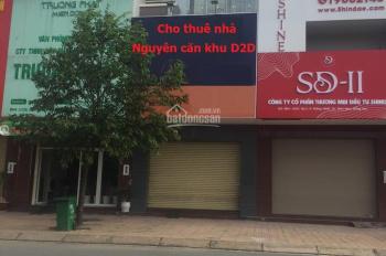 Cho thuê nhà nguyên căn khu D2D, Biên Hòa, Đồng Nai, LH: 0962528828 Vân