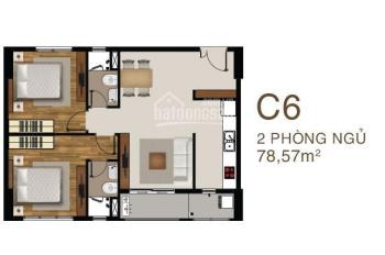 Cần bán căn hộ Sài Gòn Mia mặt tiền 9A, DT 78m2, vào ở ngay LH 0938595337