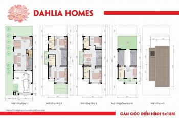 Chính chủ bán biệt thự liền kề Gamuda 126m2, xây dựng 4 tầng, trả chậm 0% LS. LH xem nhà 0931617555