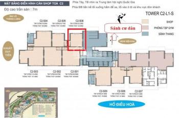 Bán shop khối đế D'capitale Trần Duy Hưng tòa Officetel C2 cạnh sảnh cư dân. LH: 0971.996.199