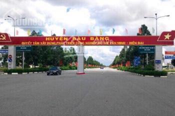 Đất nền Bàu Bàng, mặt tiền đường ql13 ngay TT hành chính - sổ đỏ thổ cư 100% xây dựng ngay giá 279t