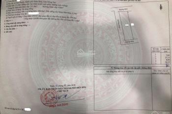 Đất TP Biên Hòa cực rẻ, 8x27m, 2,499 tỷ (KTL) sổ trao tay, 3 mặt tiền, công chứng ngay, 0972457427