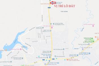 Cho thuê đất 4 mặt tiền trung tâm thành phố Đồng Xoài, Bình Phước DT gần 1 ha
