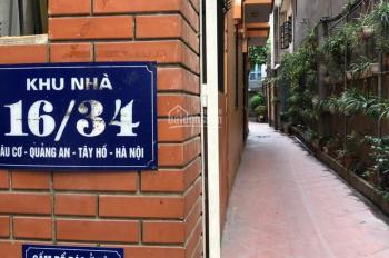 Chính chủ cho thuê nhà 3 tầng ngõ 34 Âu Cơ, Tây Hồ, giá 20 tr/tháng. LH: 0967440991