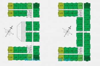 Bán căn góc Flora Anh Đào, 67m2, 2PN, giá 1,950 tỷ