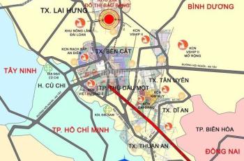 Bán đất nền dự án ngay TTHC huyện Bàu Bàng chỉ với 240tr, ngân hàng hỗ trợ vay 60%. LH 0982.629.571