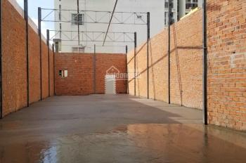 Cho thuê mặt bằng kinh doanh: 6.4x35m nở hậu 7m, nhà trệt mới xây sàn suốt. 75 tr/th Tín 0983960579