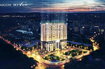 Bán 05 căn hộ SaiGon Skyview Q. 8, 66m2/2PN/1.810 tỷ, 69m2/2PN/1.880 tỷ - TT 15%