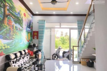 Cần bán nhà 1 trệt 1 lầu (Mái đúc Thật), sổ sách hoàn công đầy đủ, đường Long Thuận, Q9, TP.HCM