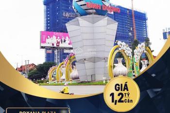 Căn hộ Roxana Plaza công bố chính thức nhận đặt chỗ ba tầng đẹp cuối cùng giá chỉ 1.23 tỷ