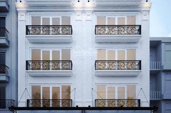 Cho thuê nhà mặt phố Nguyễn Chánh, Nguyễn Quốc Trị 105m2 x 7 tầng. Giá 120tr/th