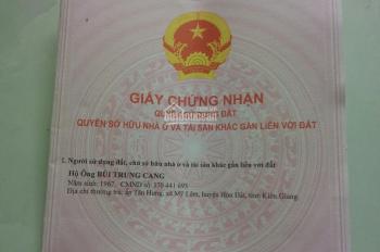 Bán đất ở Kiên Giang phù hợp xây nhà yến 700m2 có thổ cư giá 1 tỷ bao thuế phí và làm giấy tờ