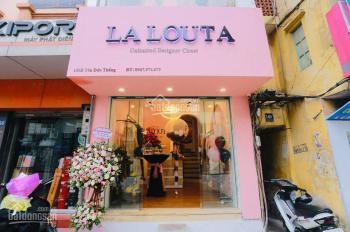 Cho thuê cửa hàng phố Tôn Đức Thắng 20m2, mặt tiền 3m, giá 14tr/tháng. LH: 0974433383