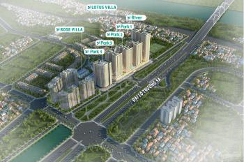 Cần bán lô biệt thự tứ lập khu Lotus Villas, dự án Eurowindow River Park Đông Trù. LH: 0936.358.981