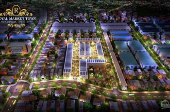 Đất nền dự án Royal Market Town, phố thương gia, lộc tài hội tụ, SHR, ngay vòng xoay An Phú