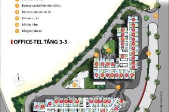 Cho thuê lô văn phòng Sunrise City View - Novaland giá 10 triệu/40m2. LH 0938020908
