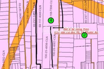 Bán gấp 18000m2 đất mặt tiền Hùng Vương, xã Phước An, giá 3 triệu/m2, 0901414778