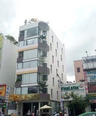 Cần bán toà nhà VP hầm 7 tầng(12x40m)2178m2 sàn Hoà Bình, p. Phú Trung, Q. Tân Phú. Giá: 74.9 tỷ TL