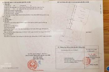 Cần bán lô đất mặt tiền Lê Thúc Hoạch, quận Tân Phú, DT: 4 x 20m