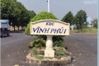 15 nền còn sót lại KDC Vĩnh Phú 1, ngay chung cư đang xây, Thuận An - Bình Dương, 100m2, giá 1tỷ5