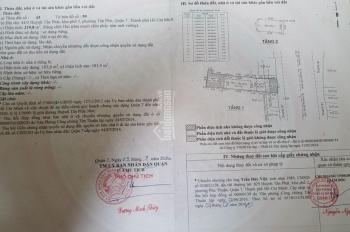 Bán nhà MT Huỳnh Tấn Phát 7m*32m, 1 lầu, đang cho thuê 50 tr/th, giá 27 tỷ. LH: 0938279735 Thu