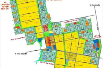 Bán đất nền dự án ngay Quốc Lộ 13 liền kề TTHC Bàu Bàng chỉ với 250tr. LH 0907.88.67.27