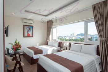 Cho thuê Khách sạn 3 sao ngay Trung Tâm Thành Phố Biển Vũng Tàu, 51 phòng, thu nhập ổn định