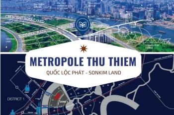 Dự án Metropole The Crest giai đoạn 2 view sông Sài Gòn và Quận 1 LH 0792966008