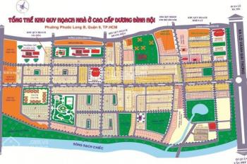 Bán đất dự án khu 6B Intresco, đường Phạm Hùng 22m, Bình Chánh, giá 30tr/m2, DT 100m2. 0328672237