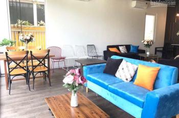 Cho thuê căn biệt thự Dragon Parc 1, mặt đường Nguyễn Hữu Thọ, đã decor hoàn thiện đẹp, 0909954185