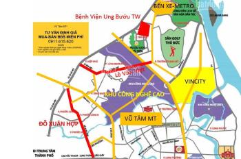 Bán nhà mặt tiền Lê Văn Việt, ngay chợ nhỏ gần Vincom, kinh doanh sầm uất, 400m2/ 39 tỷ