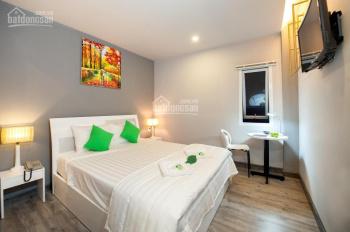 Cho thuê khách sạn MT Lê Thánh Tôn, DT 4x20m, hầm 9T 16P cao cấp gần Lê Anh Xuân, giá 208,26 tr/th