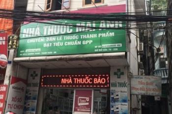 Chính chủ bán nhà mặt phố Khương Trung, diện tích 72,5 m2