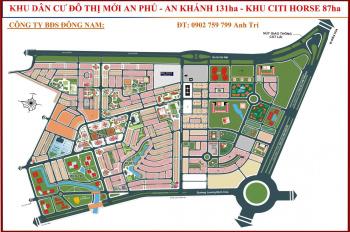 Bán đất An Phú An Khánh, Q2, 6mx20m=129,5m2, H.Bắc, sổ hồng, 121,5 tr/m2, 0902759799 anh Trí