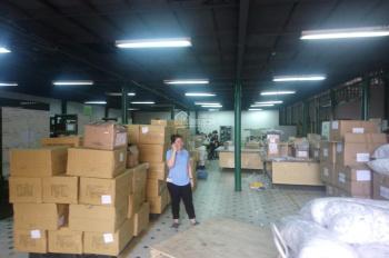 Cho thuê kho xưởng 1000m2 mặt tiền đường Nguyễn Nghiêm, P. Hòa Thạnh, Q. Tân Phú