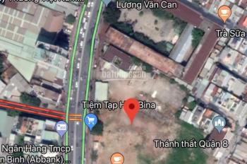 Bán 3 nền đất tuyệt đẹp MT đường Phạm Hùng, P4 Quận 8, giá 18tr/m2 100m2, sang sổ ngay. 0908775394