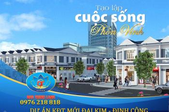Có nên đầu tư LK Shophouse tại dự án KĐT mới Đại Kim Định Công? Đừng bỏ lỡ cơ hội sinh lời nhất