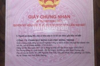 Bán gấp lô trục chính N1 Phú Hồng Thịnh 8 ngay ngã tư đi vào trường học hướng Tây tứ tạch