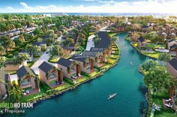 Nhà phố Novaworld Hồ Tràm 6x20m giá từ 4,5 tỷ