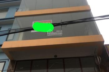 Cho thuê nhà phố Kim Giang, Thanh Xuân, Hà Nội, DT 85m2, 5T, MT 8m, thông sàn. Giá 45tr/th