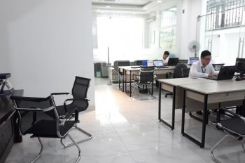 Cần cho thuê văn phòng Him Lam 120 m2 có hầm để xe 17 tr/tháng