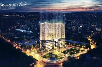 Bán căn hộ SaiGon Skyview Q. 8, đối diện bến xe Q.8, 66m2/2PN/2WC/1,810tỷ