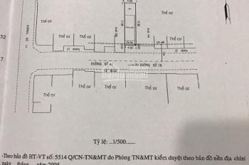 Còn lô đất duy nhất MT đường Số 41, P. Tân Quy, Quận 7. Giá chốt nhanh: 9,5 tỷ