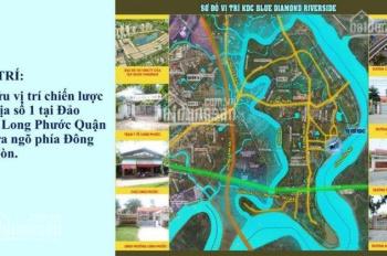 Cần bán gấp lô đất Blue Diamond, P. Long Phước, Q9, SHR, giá 1.8 tỷ/nền, 5x20m, LK Làng ĐH Long Đức