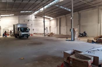 Cho thuê kho - xưởng 550m2 trống suốt nền bê tông đường xe tải lớn