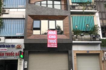 Cho thuê nhà MP Phạm Ngọc Thạch, 90m2 x 2 tầng, MT 5m, giá: 120tr/th. Nhà mới, thông sàn